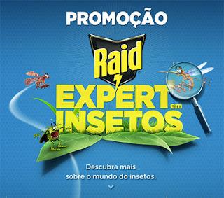 Participar da promoção Raid Expert em Insetos