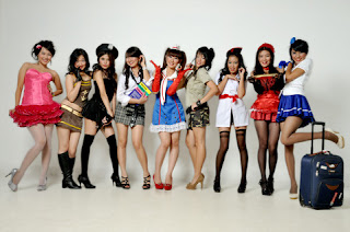 Foto Minni Girl Band Indonesia