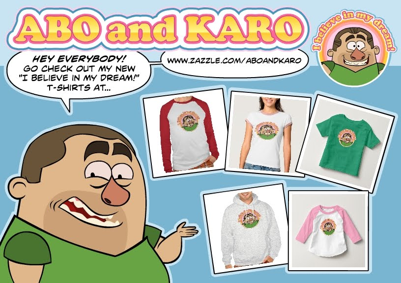 Check 'em out some t-shirts!