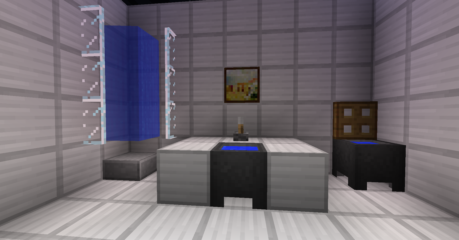 Minecraft Bathroom Ideas Minecraft Bathroom Design Too