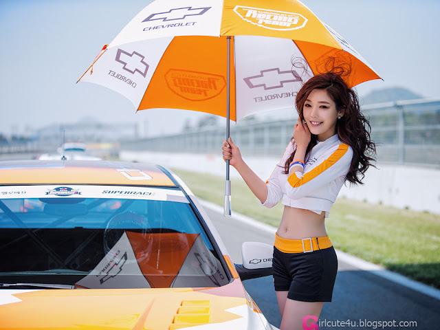1 Jo Sang Hi - CJ SuperRace R1 2013  - very cute asian girl - girlcute4u.blogspot.com