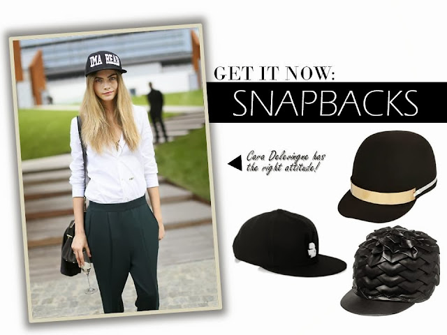 Get It Now: Snapbacks inspired by Cara Delevingne