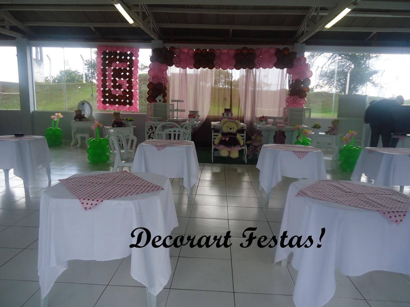 Decorart Festa Decoraç u00e3o de festa infantil em Curitiba provençal ursas