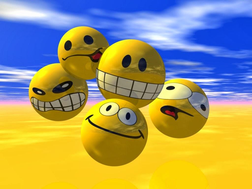 3D Happy Smiley Face