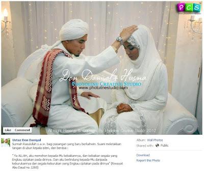 Sunnah Rasululullah s.a.w bagi pasangan yang baru berkahwin..suami ...