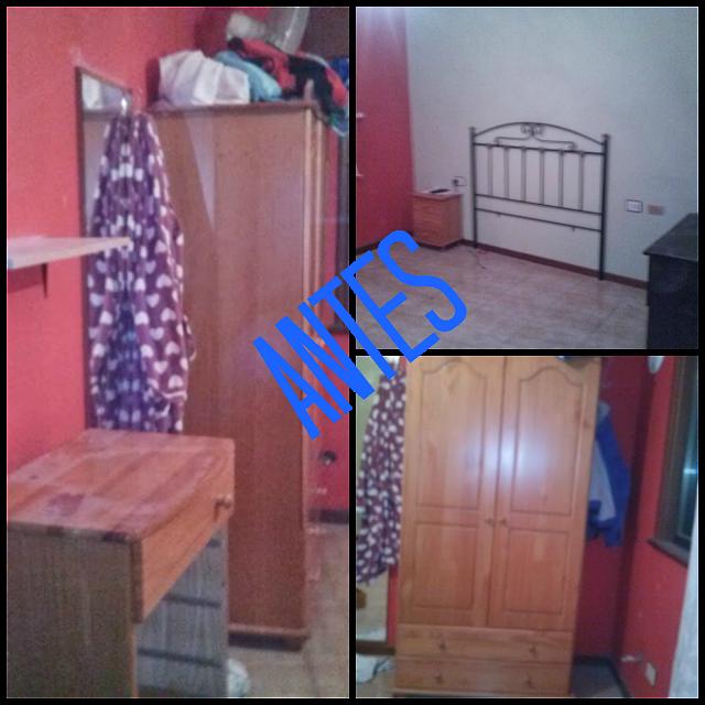 Antes y después de un dormitorio