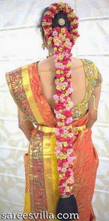 South Indian Bridal Hairstyles | Sarees Villa