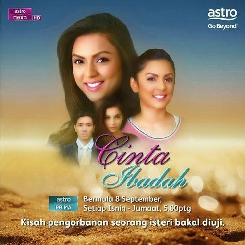Sinopsis Cinta Ibadah, Telenovela Melayu Cinta Ibadah Drama Astro Prima dan Maya HD