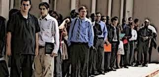 mercado de trabalho em crise