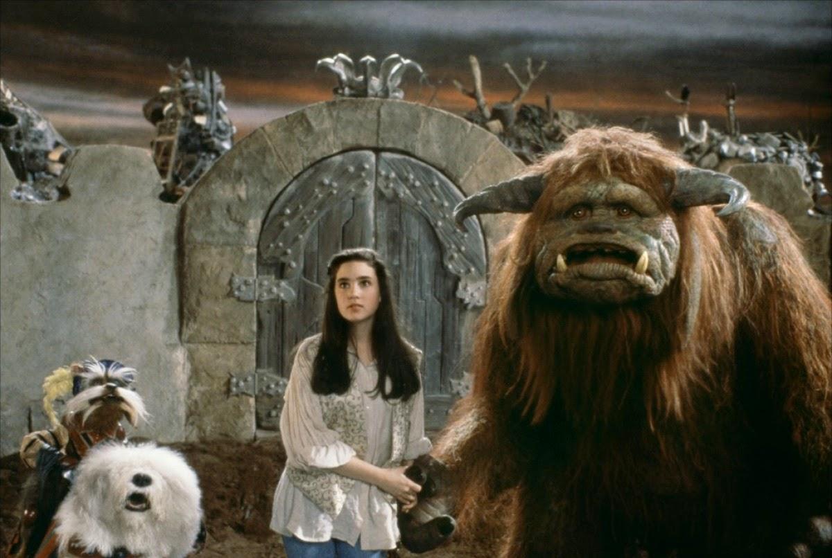 Sarah acompañada de Sir Didymus y Ludo para rescatar al pequeño Toby