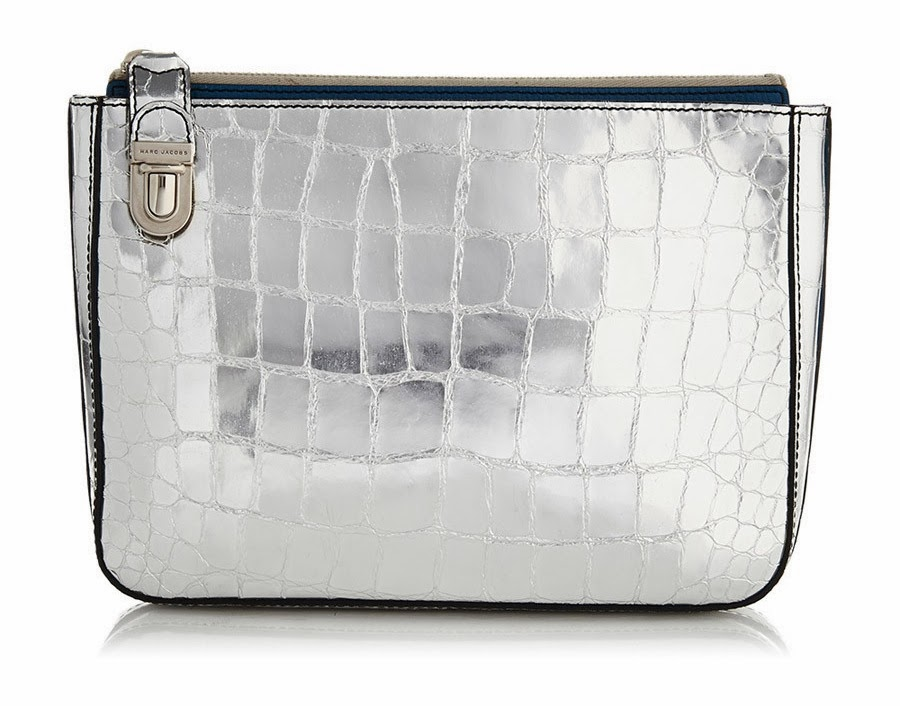 Marc Jacobs Silver Python
