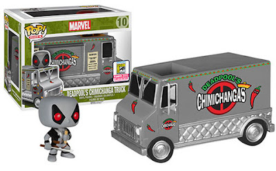 San Diego Comic-Con 2015 Exclusive Marvel's X-Force Chimichanga Truck Pop! Ride with X-Force Deadpool Pop! Vinyl Figure by Funko