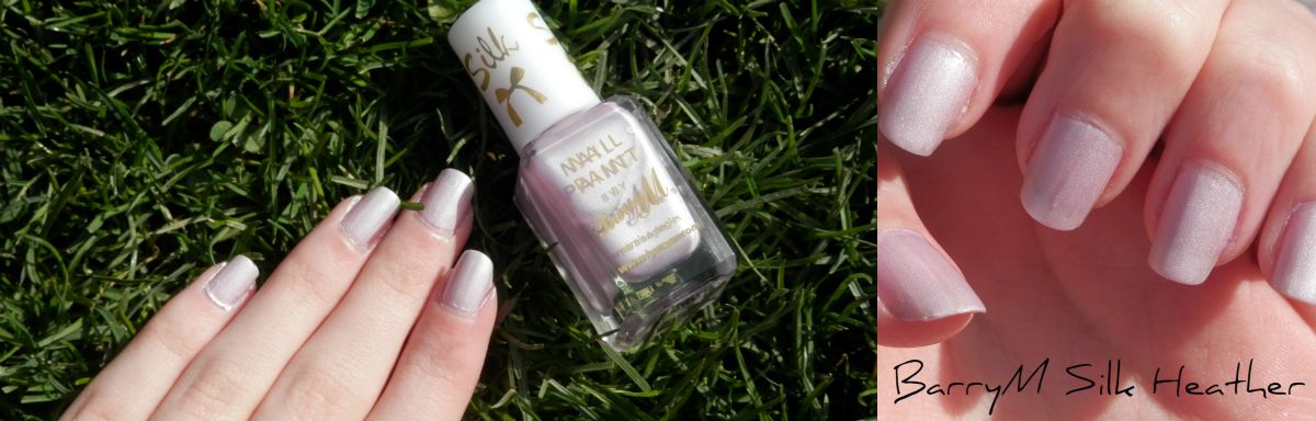 Nail Varnish Review BarryM Silk Heather