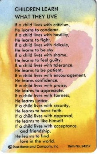 Dorothy Nolte, 81, Author of Parenting Poem, Dies - The ...