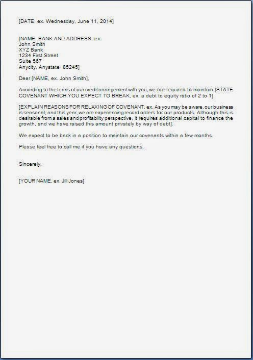 Online Writing Lab application letter to bank format – Request Letter Format
