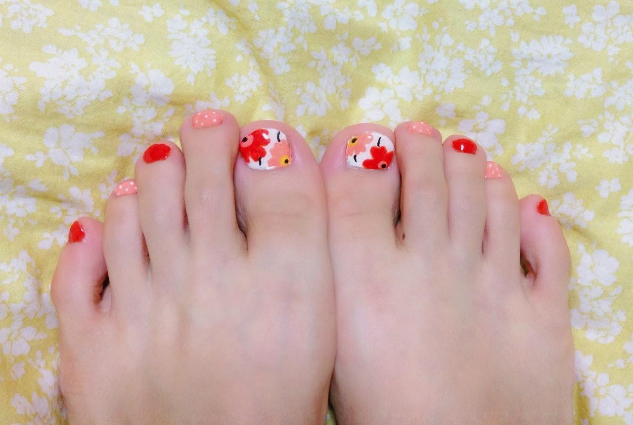 【2015♡春】今年のフットネイルはパステルのお花が可愛い♡人気のシンプルデザイン画像まとめ♪