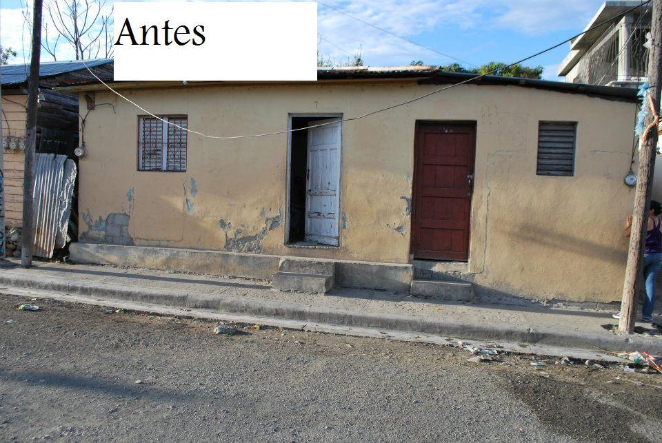 Fundaci n firshao pinta casas humildes de pueblo abajo - Casas de pueblo ...