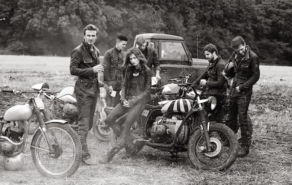 "BELSTAFF AND DAVID BECKHAM CELEBRATE THE LAUNCH OF ""OFF ROAD"", A LIMITED EDITION BOOK OF PHOTOGRAPHY BY PETER LINDBERGH"