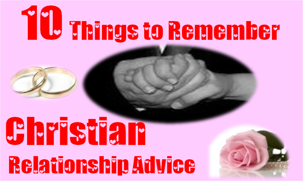 Christian relationships advice on dating sites