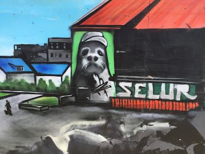 Reykjavik Mural Seal