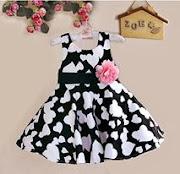 Zoe Flower Dress Kanak-kanak
