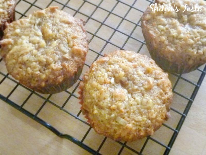 Carrot Cake Muffins | Shiloh's Taste