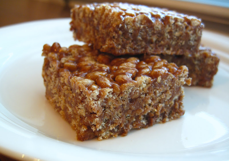 Chocolate Peanut Butter Rice Krispies - Natural Sweet Recipes