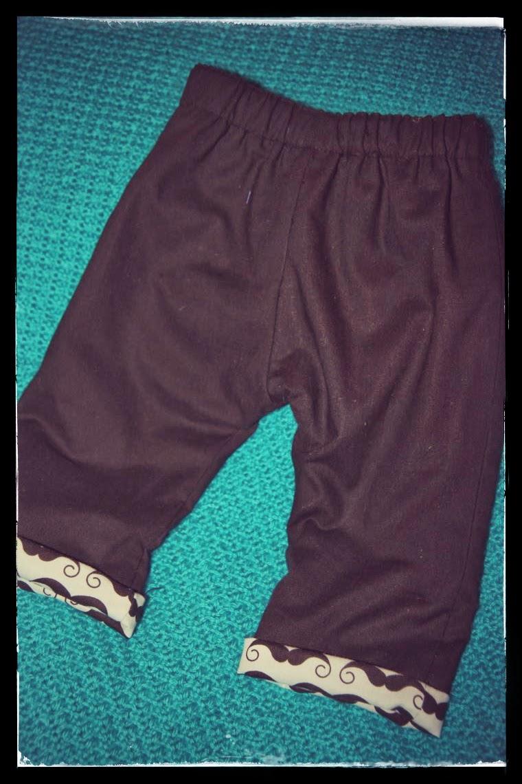 patron couture gratuit pantalon bebe