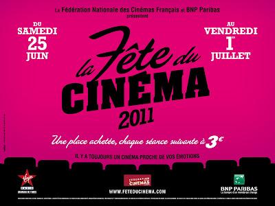 La Fête du Cinéma 2011 !