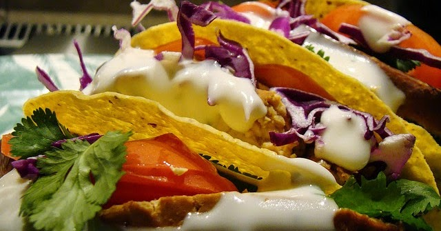 Rideaux Cuisine Moderne Ikea : Street Food, Cuisine du Monde Recette de tacos au thon et à lavocat
