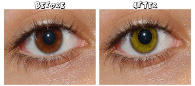 Cara  manipulasi  tutorials photoshop cs4 Mengubah kontak lens mata Dalam sekejab