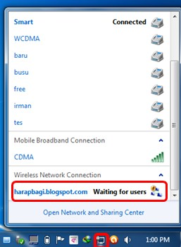 Cara Membuat Wifi/Wireless/Hotspot