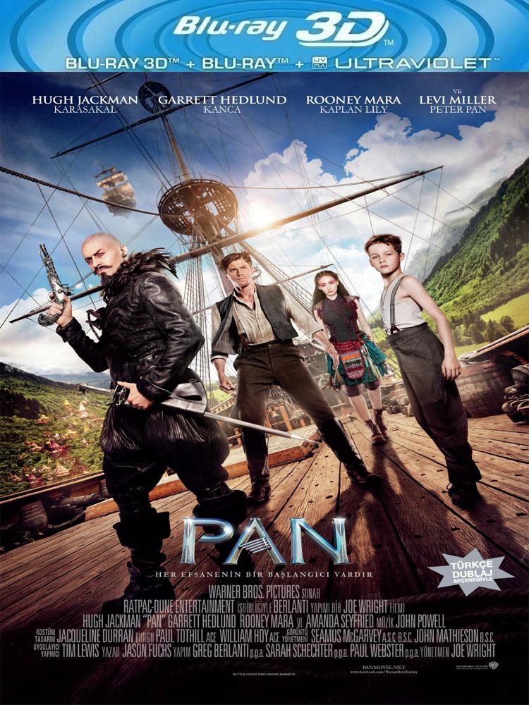 Pan (2015) 3D Film indir