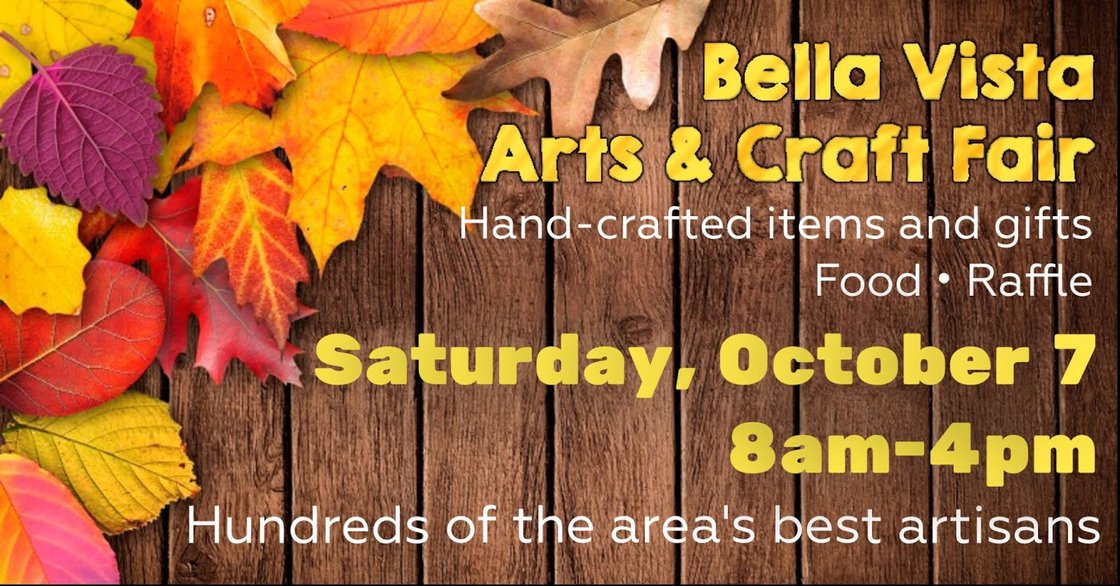Bella Vista Arts & Craft Fair