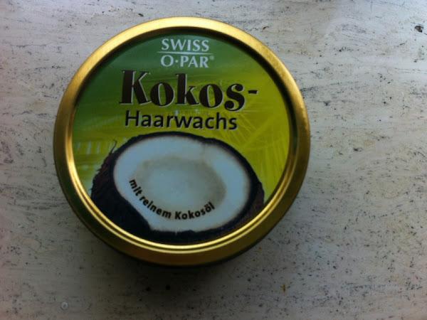 Swiss o-par Kokos Haarwax.