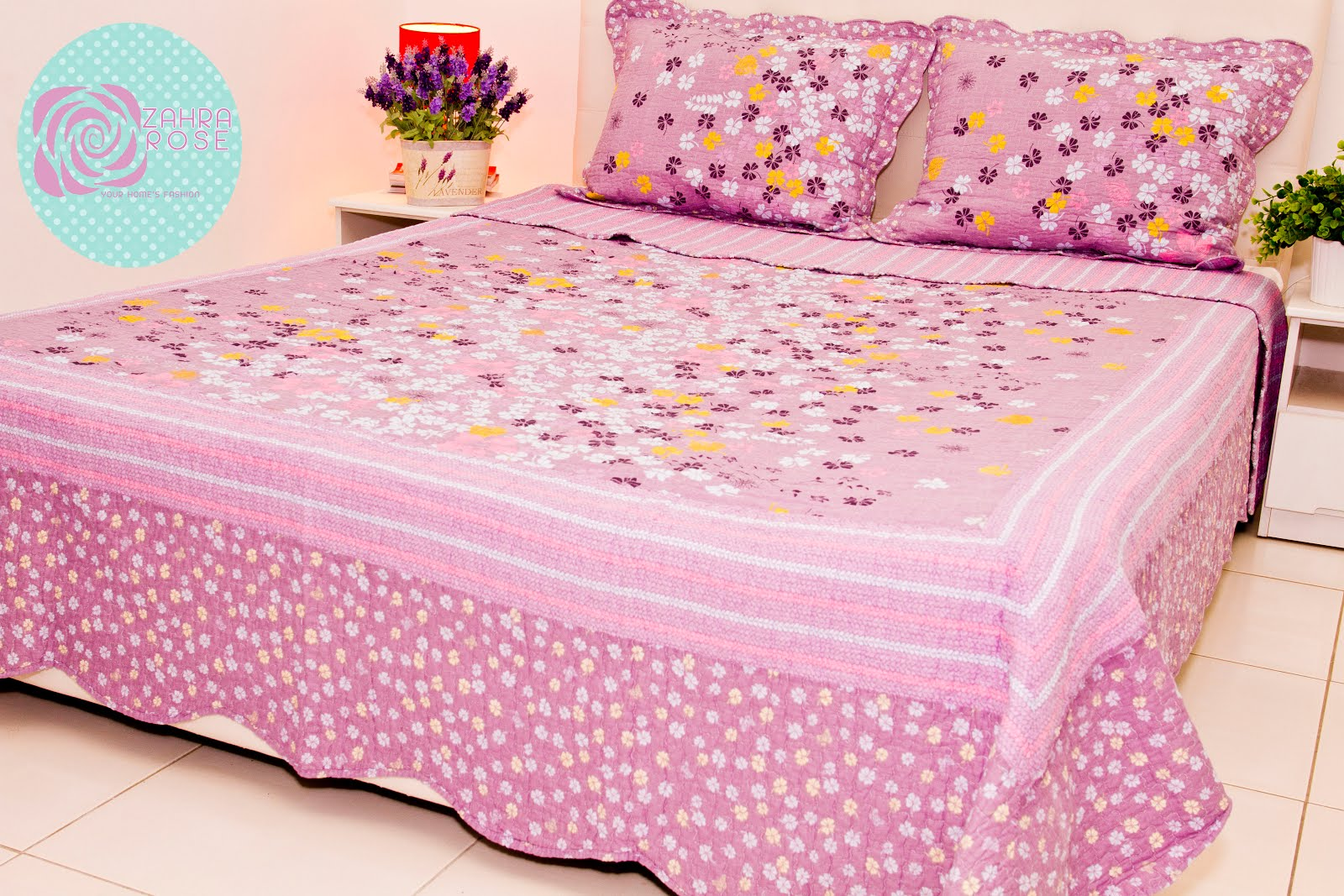 Patchwork bed sheets patterns - Zr 003