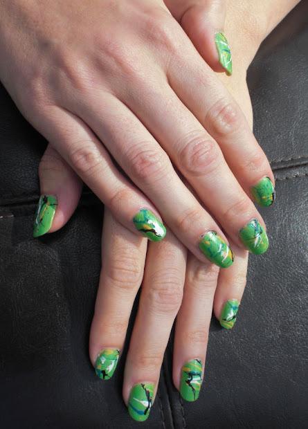 easy nail polish design - pccala