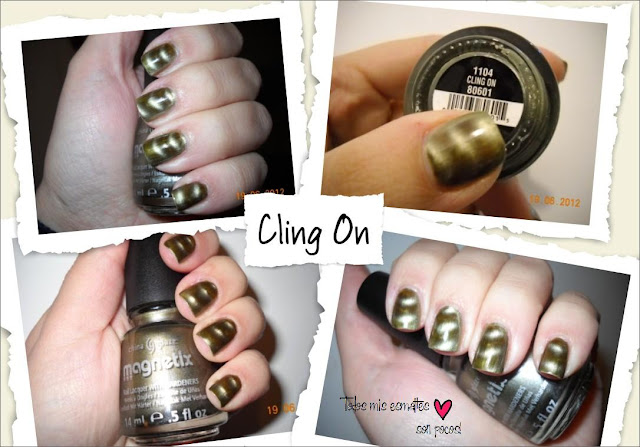 cling on china glaze magnetico magnetix esmalte uñas nails nail polish