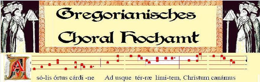 Gregorianischer Choral