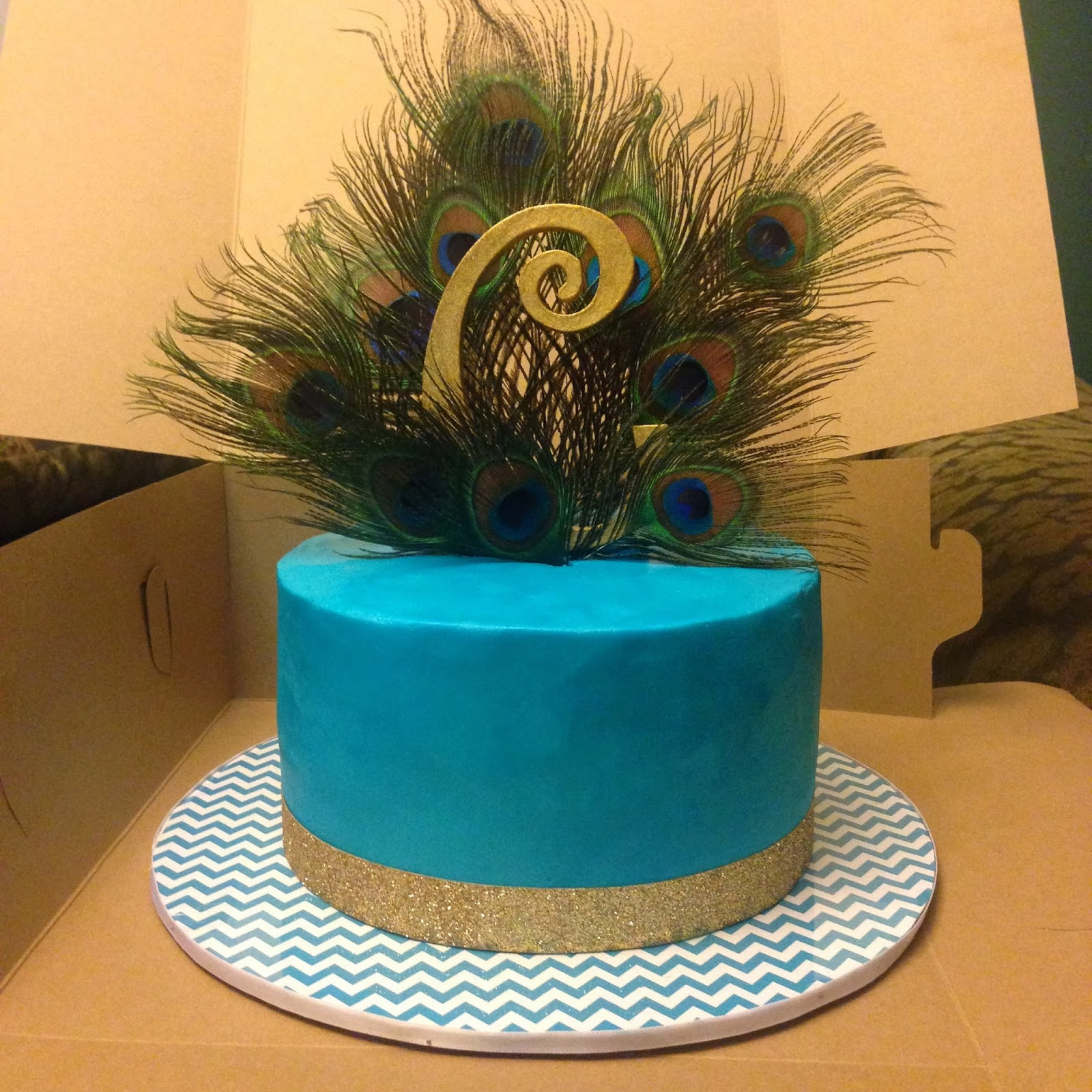 Cakes By Mindy Peacock Cake 8 Quot