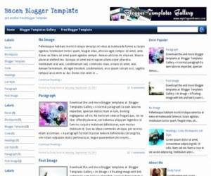 Bacen Blogger Template