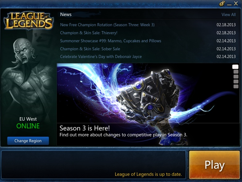 league of legends downloading