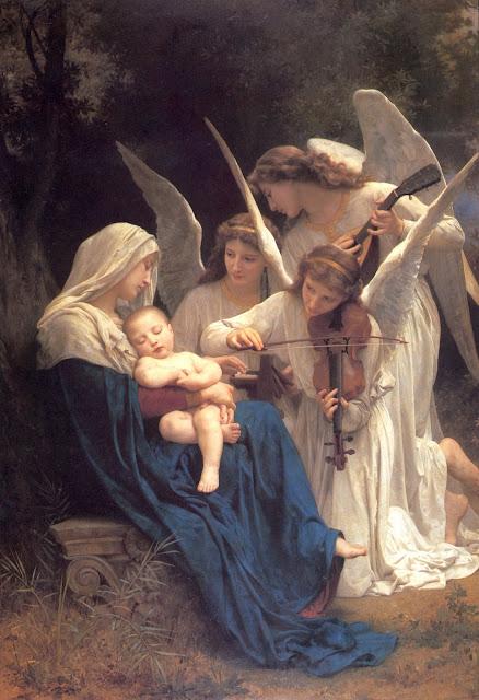 angels,William Adolphe Bouguereau,Bouguereau