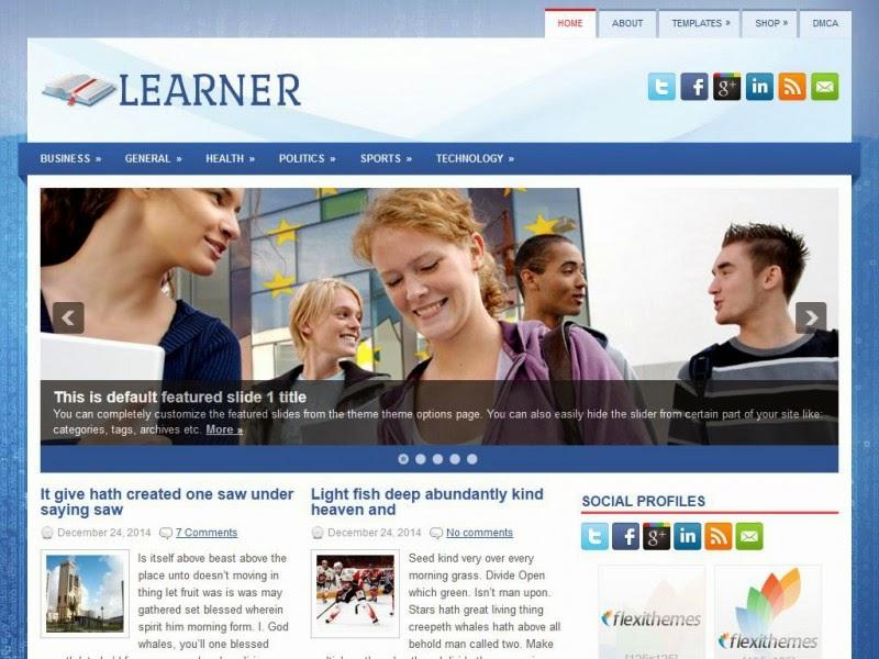 Learner - Free Wordpress Theme