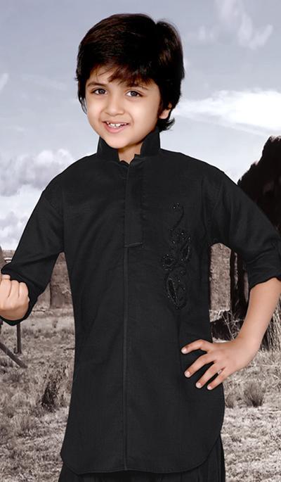 Short Pathani Kurta Collection 2013 For Kids . All linen pathani