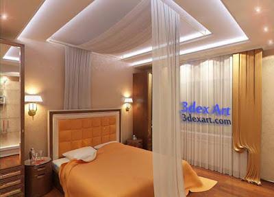 Дизайн потолков из гипсокартона для коридора
