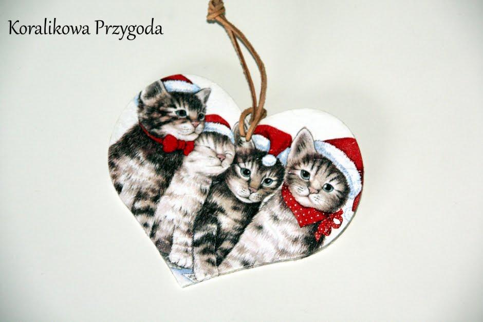 kocia tabliczka świąteczna