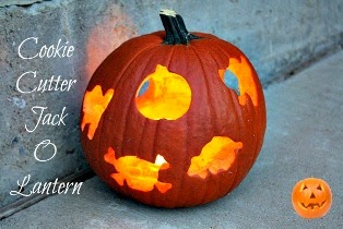 Cookie Cutter Jack O Lantern