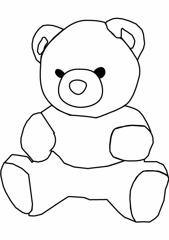 Bear pictures to color