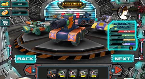juego racing tank gameplay